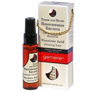 Nicotinsäure / Niacin (Nikotinsäure) gegen Haarausfall Niacinamid
