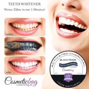 Aktivkohle Zahn Bleaching 30g