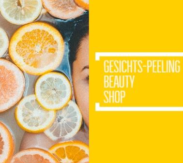 Kosmetik-Online-Shop Gesichtspeeling GESICHTSPFLEGE